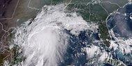 "Hurrikan ""Nicholas"" steuert auf Texas zu"