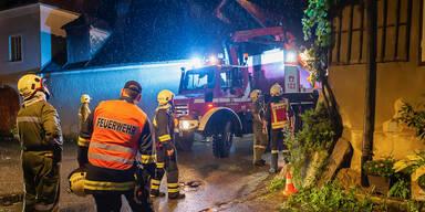 Wachau: Mega-Hagel zerstörte 40 Hausdächer