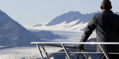 US-Präsident Barack Obama bei seiner Tour durch Alaska