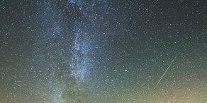 Heute erleuchten Sternschnuppen den Himmel