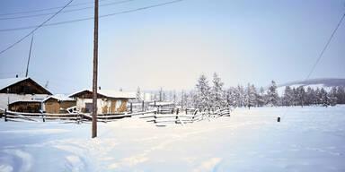 Oimjakon, das kälteste Dorf der Welt