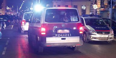 24-jähriger Betrunkener bedrohte Polizisten mit Waffe