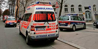 Rettung Polizei Wien