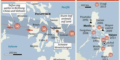 Philippinen Haiyan GRAFIK