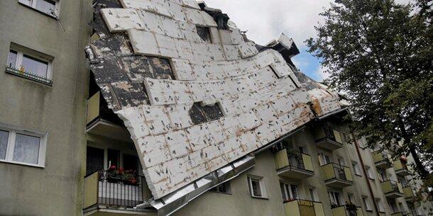 Horror-Unwetter: Vier Tote in Polen, schwere Schäden in Tschechien