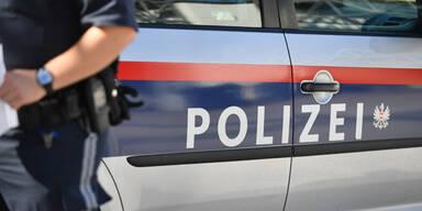 Betrunkene blieb mit Auto stecken und griff Polizistin an