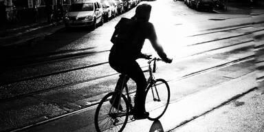 Radfahrer Nacht