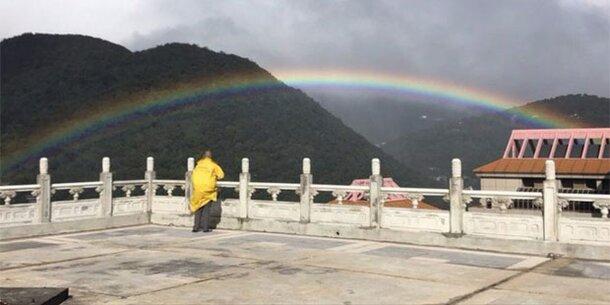 Das ist der unfassbare Rekord-Regenbogen