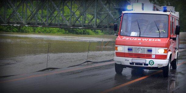 Hochwasser-Wochenende: Gefahr in Österreich