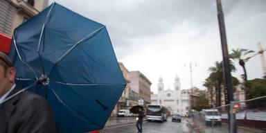 Unwetter in Rom