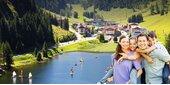Familien-Sommerurlaub Berge & See