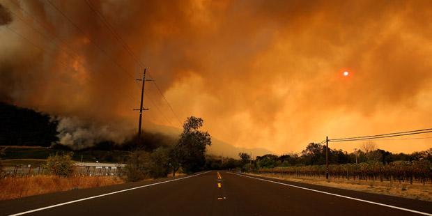 San Francisco Gulf Feuer