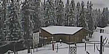 Wintereinbruch in Österreich