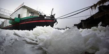 Schifffahrt Eis