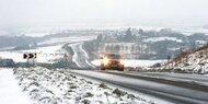 Winterwetter legte Briten-Verkehr lahm