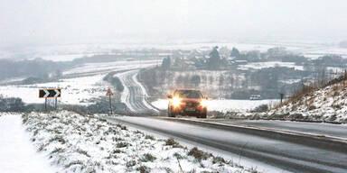 Schnee Großbritannien