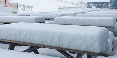 Schnee Kitzsteinhorn
