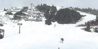 Schnee St. Anton