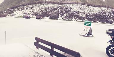 Schnee Nockalm Sommer