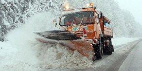 Am Mittwoch kommt die nächste Schneewalze