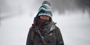 Schneesturm trifft auf US-Ostküste