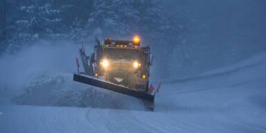 Wetter-Warnung: Schneesturm fegt über Österreich