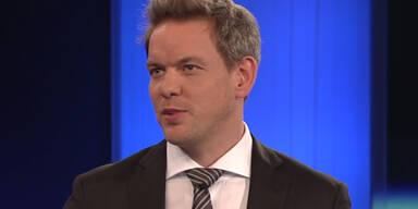 Schrecksekunde während ZiB2: Plötzlich knallte es im ORF-Studio