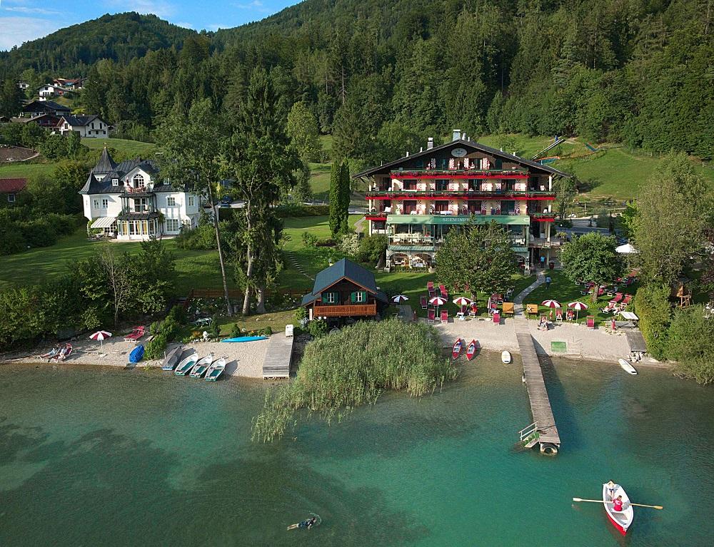 Seewinkel Hotel - Salzkammergut - ADV - Bild 6 - Luftaufnahme