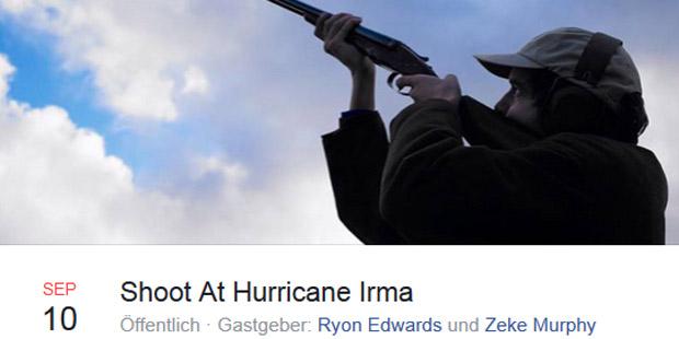 Shoot at Hurricane Irma