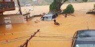 Überschwemmungen in Sierra Leone: Mehr als 310 Tote