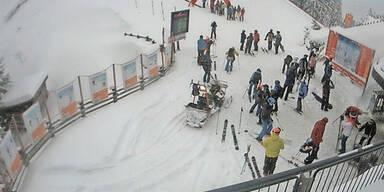 Skigebiete Schnee