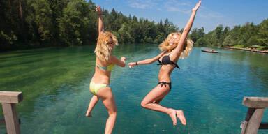 Sommer ist zurück: Hitze-Hammer am Super-Sonnen-Weekend