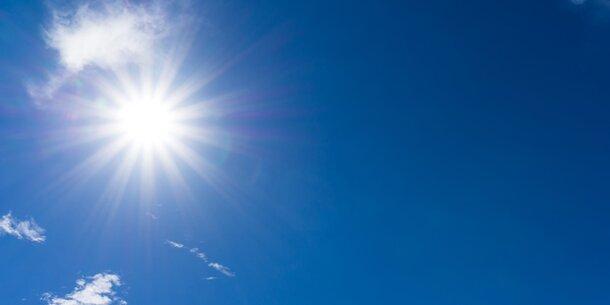 30 Grad! Nächste Woche kommt wieder Hitze