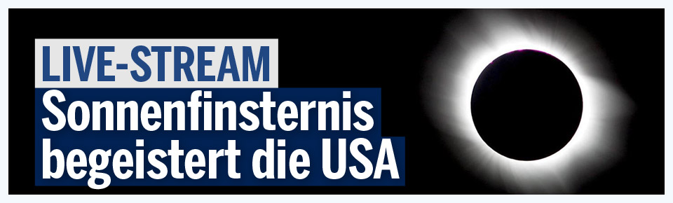 Sonnenfinsternis begeistert die USA