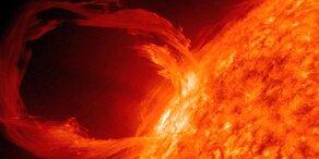 Mega-Sonnensturm könnte Welt über Jahre ins Chaos stürzen