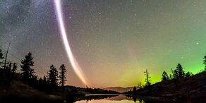 Forscher entdecken neues Licht-Phänomen auf Facebook-Foto