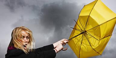 Wetter-Warnung: Sturmtief Eugen fegt über Österreich