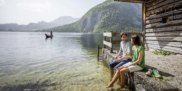 Ganz klar, Berge und Seen – ein Genuss!