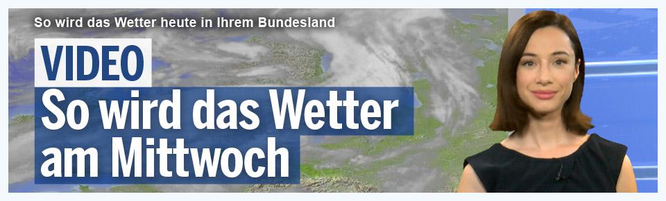 So wird das Wetter am Mittwoch