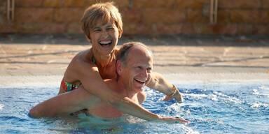 Therme Dobrna - Paar im Pool