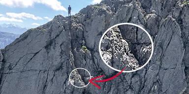 Tierrettung Montscheinspitze in Eben am Achensee