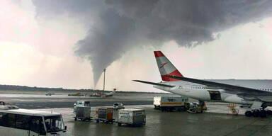 Tornado Flughafen