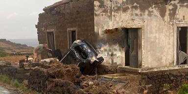 Italien: Zwei Tote nach Tornado auf Ferieninsel