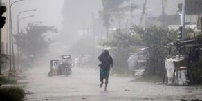 Starkregen: Touristen sitzen auf Trauminsel fest