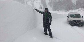 Die besten Bilder aus dem Schnee-Chaos