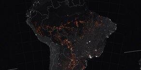 Amazonas: NASA zeigt schockierende Feuer-Karte