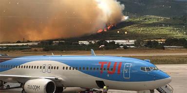 Waldbrände Kroatien