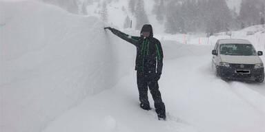 Schnee Obertauern
