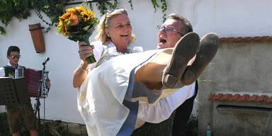 Kneissl Hochzeitsfoto
