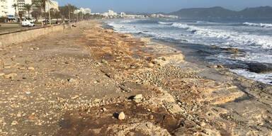 Mallorca Strand ohne Sand
